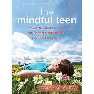 """The Mindful Teen"" Book Cover - Draft"