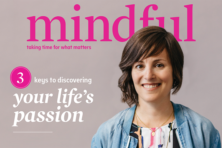 Mindful magazine cover