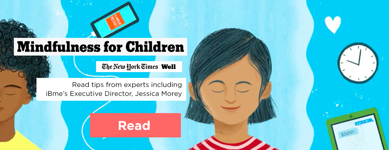 Mindfulness for Children article from New York Times