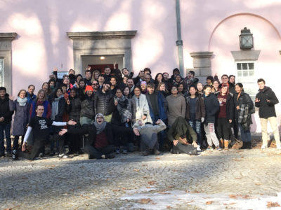 Group photo of Harvard winter iBme Retreat