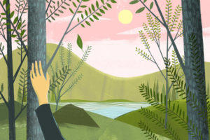 How to Be Mindful on a Hike