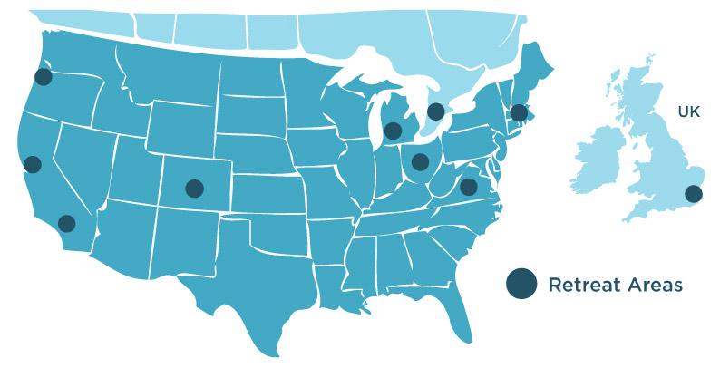 iBme Retreat Location Map