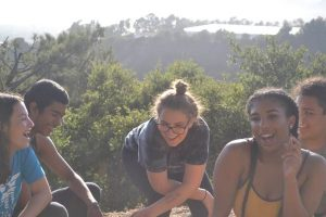 Teens on ridge