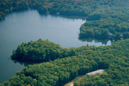 Prindle Pond Retreat Center Aerial