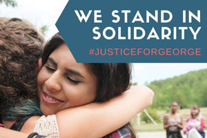 We stand for racial justice, will you stand with us?