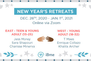 New Year's Retreats Banner